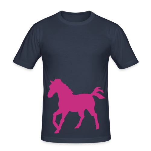 K Horse - Men's Slim Fit T-Shirt