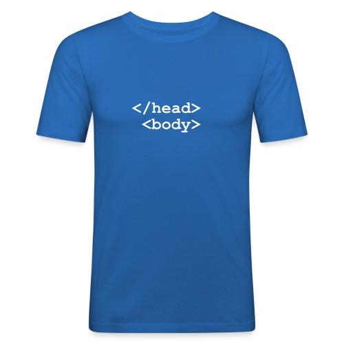 Html - Camiseta ajustada hombre