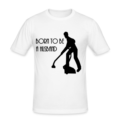 Stylish Slim-fit born to be a husband t-shirt - Men's Slim Fit T-Shirt