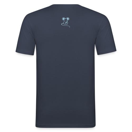 Men's Original mousey inc. Slim - Dark Navy - Men's Slim Fit T-Shirt