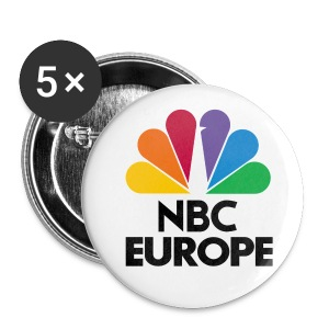 NBC EUROPE Button - Buttons klein 25 mm