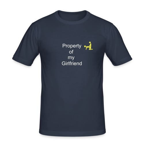 Property T- shirt - Slim Fit T-skjorte for menn