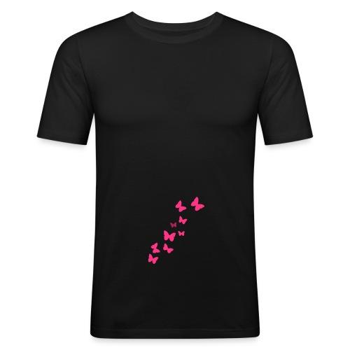 Mariposas En El Estómago - Camiseta ajustada hombre