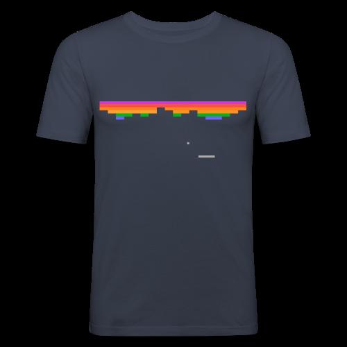 Pixeloutbreak - Men's Slim Fit T-Shirt