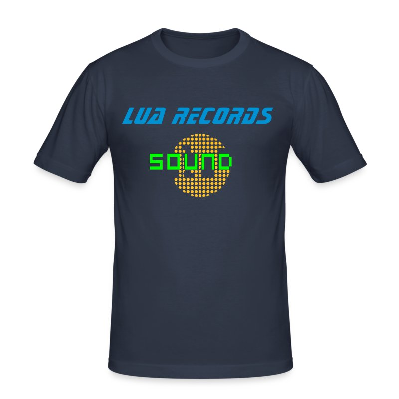 sound sphere v1 (© alteerian) - Men's Slim Fit T-Shirt