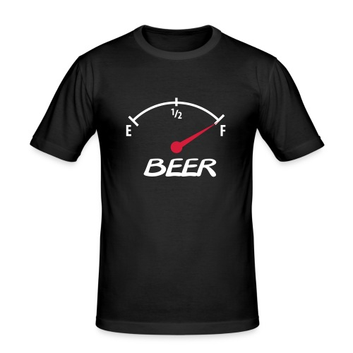 BEER CHARGE - Maglietta aderente da uomo