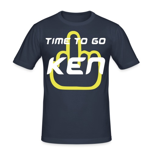 'Time To Go' T-Shirt - Men's Slim Fit T-Shirt