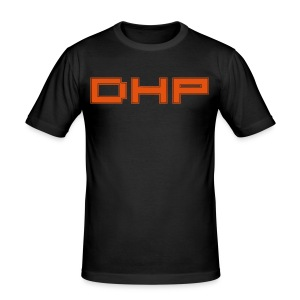 DHP text summer orange slimfit - slim fit T-shirt