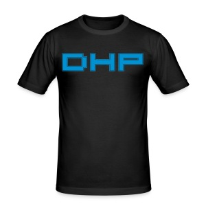 DHP summer blue slimfit - slim fit T-shirt