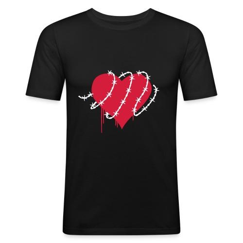 Heart imprisoned - T-shirt près du corps Homme