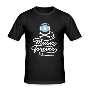 Music Forever - Men's Slim Fit T-Shirt
