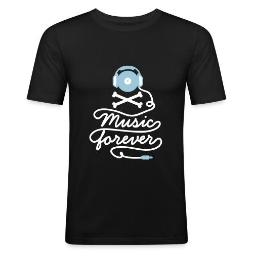 Music Forever - Men's Slim Fit T-Shirt