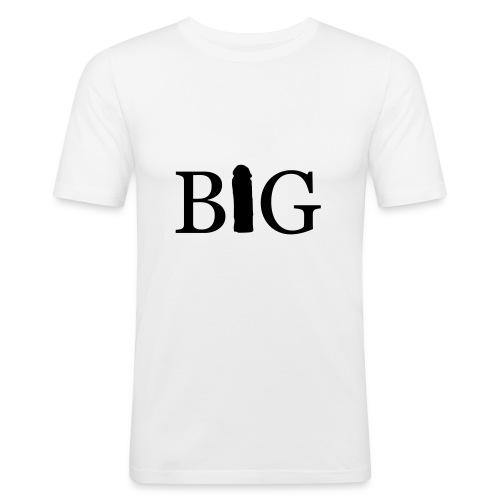 bigg - Slim Fit T-skjorte for menn