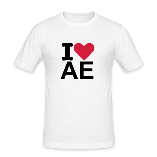 I love Automatische - slim fit T-shirt
