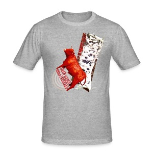 Let out the bull, t-shirt - Herre Slim Fit T-Shirt