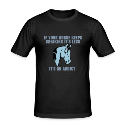 Horse K - Men's Slim Fit T-Shirt