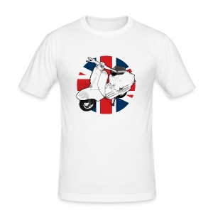 Mod Scooter - Men's Slim Fit T-Shirt