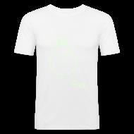 T-Shirts ~ Men's Slim Fit T-Shirt ~ Pill eyed raver