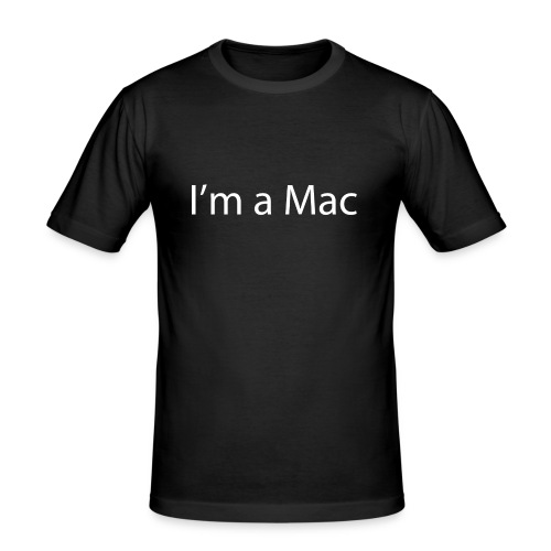 I'm a Mac - Men's Slim Fit T-Shirt