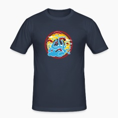 Navy Egg yellow Paragliding T-Shirts T-Shirts