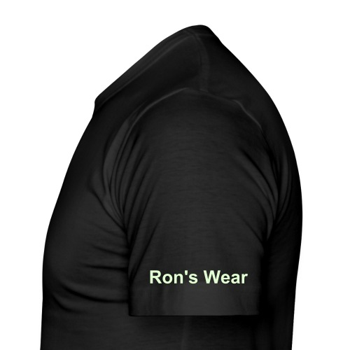 Ron's Wear (Men) ik bedien black/blue - slim fit T-shirt