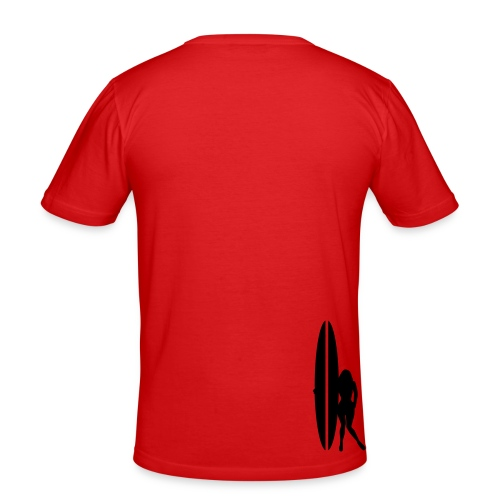 TV - Slim Fit T-shirt herr