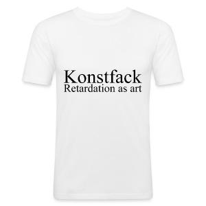 Retardation as art - Slim Fit T-shirt herr