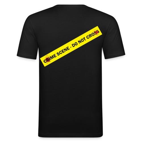 sceme crime - T-shirt près du corps Homme