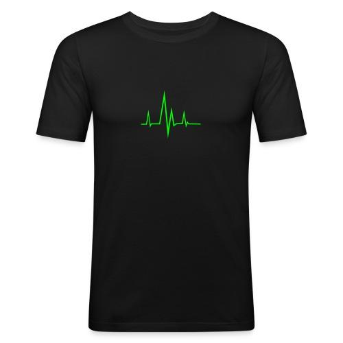 Frequenz - Männer Slim Fit T-Shirt
