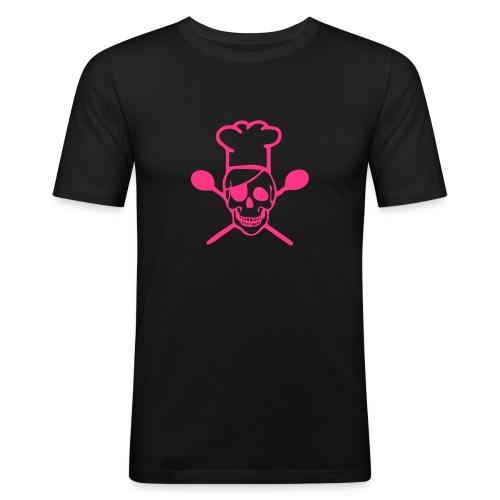 Koch - Männer Slim Fit T-Shirt