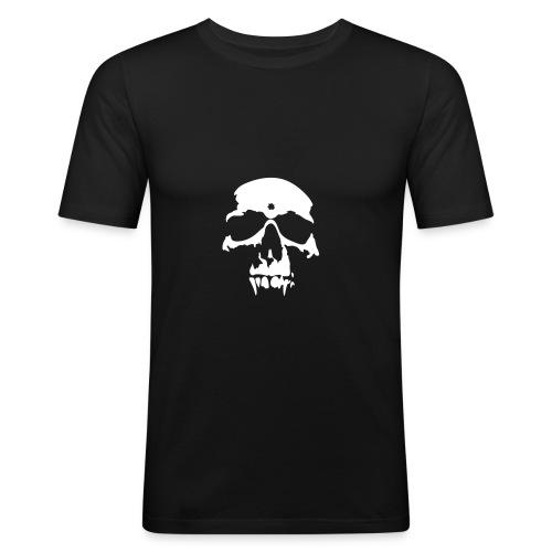 Vampire Skull - Maglietta aderente da uomo