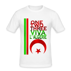 ONE, TWO, THREE - Tee shirt près du corps Homme