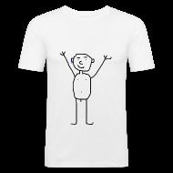Magliette ~ Maglietta aderente da uomo ~ Numero dell'articolo 11674033