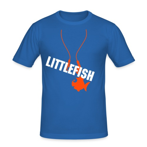 LITTLEFISH Herre T-Shirt - Herre Slim Fit T-Shirt