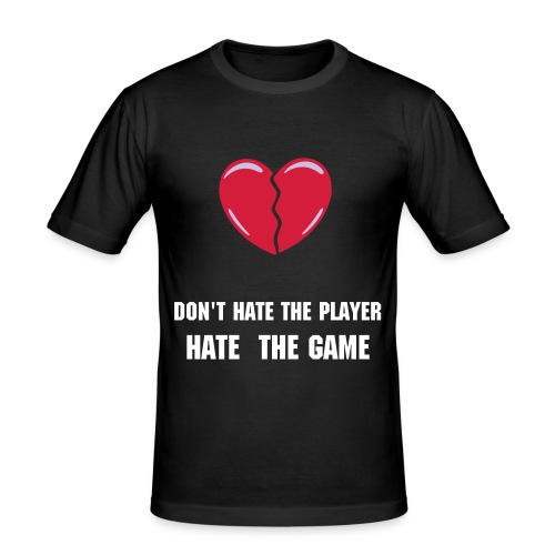 Player - Slim Fit T-shirt herr