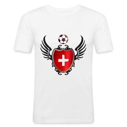 Schweiz - Männer Slim Fit T-Shirt