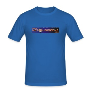 NETMUSICZONE 2 - Männer Slim Fit T-Shirt