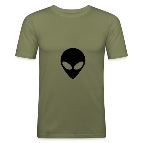 T.skjorte med motiver på - Slim Fit T-skjorte for menn