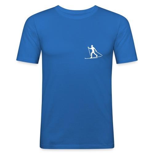 Blå Extra - Slim fit - Slim Fit T-skjorte for menn