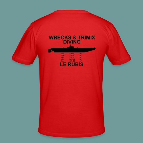 TS Rubis Tx - T-shirt près du corps Homme