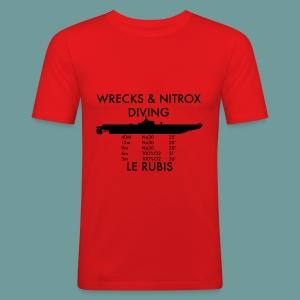 T-shirt Rubis Nx - Tee shirt près du corps Homme