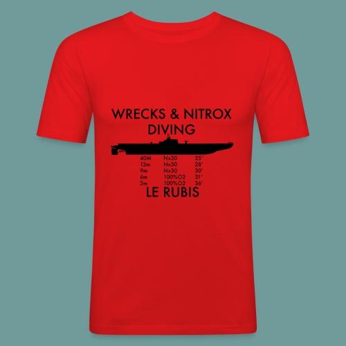 T-shirt Rubis Nx - T-shirt près du corps Homme
