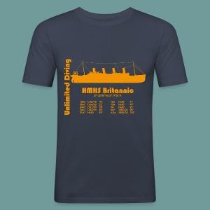 T-shirt Britannic 2 - Tee shirt près du corps Homme