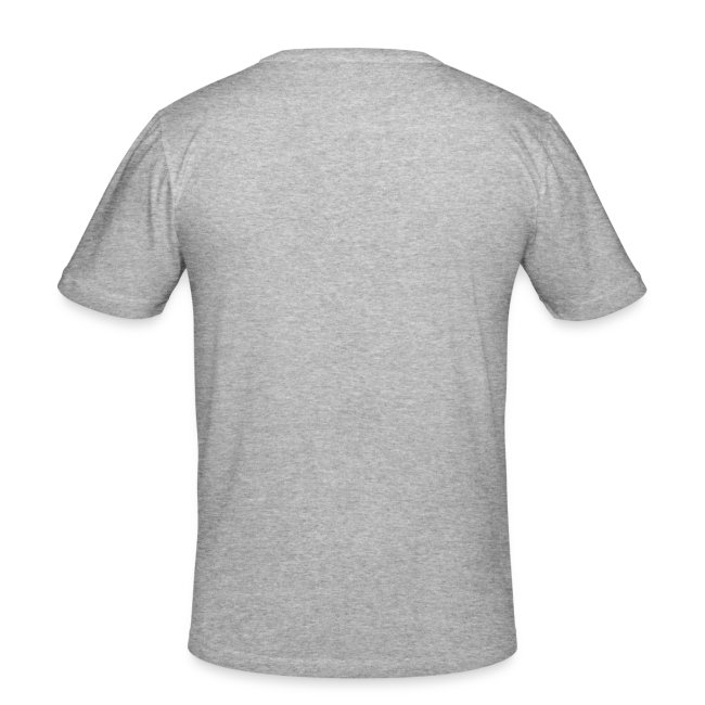 Herre slim fit T-shirt, let out the magic