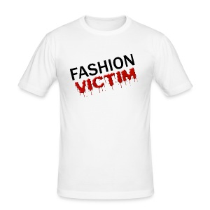 t-shirt fashion victim - Tee shirt près du corps Homme