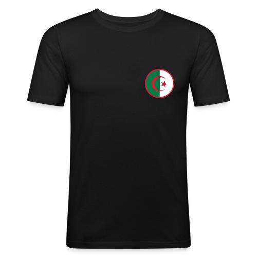 Algerie Simple Black - T-shirt près du corps Homme
