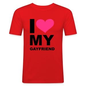 I love my Gayfriend - Men's Slim Fit T-Shirt