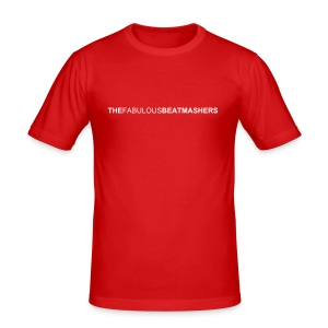 Beatmashers Slim Shirt - red - Männer Slim Fit T-Shirt