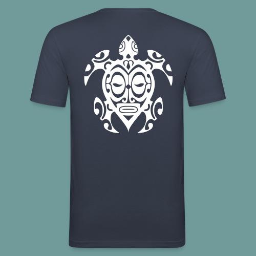 T-shirt Tortue Tiki - T-shirt près du corps Homme