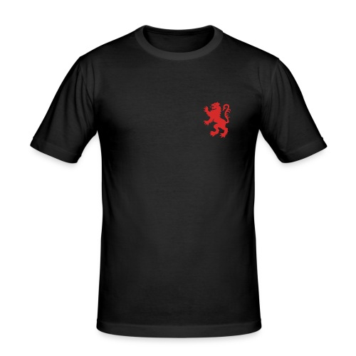 Scottish Lion Rampant Royal Black Slim Fit T-shirt - Men's Slim Fit T-Shirt